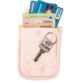 Pacsafe Coversafe S25 Dyskretny portfel do biustonosza, różowy
